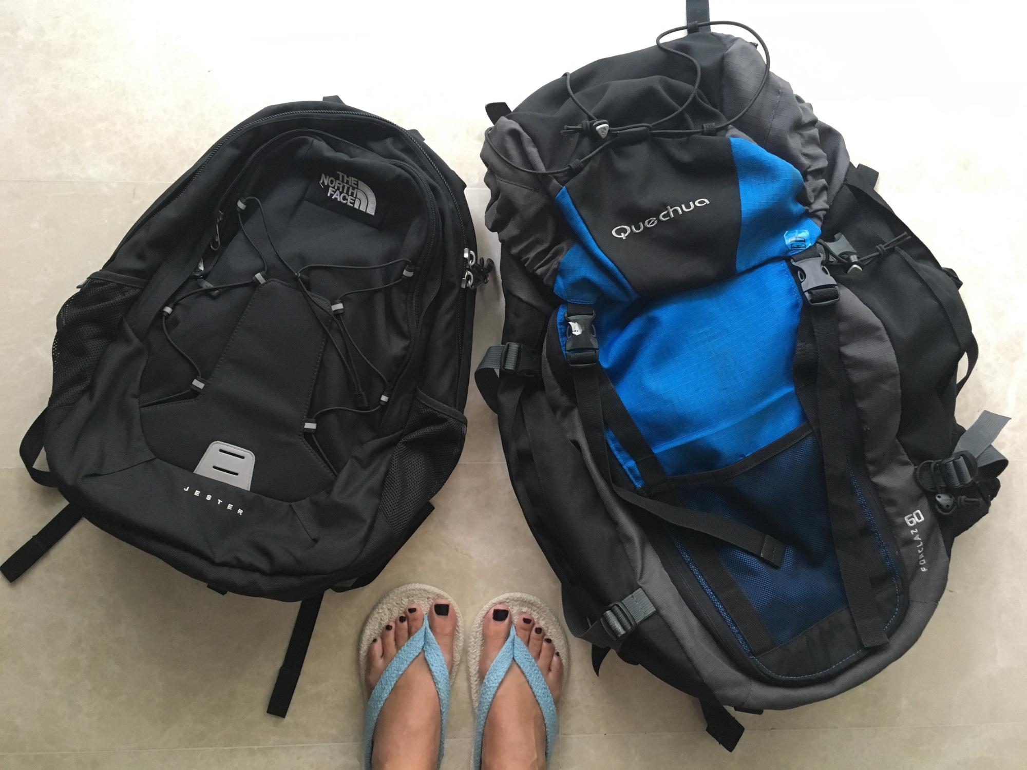 73e2eba96e Viaggiare con lo zaino: pro e contro - Sara Caulfield