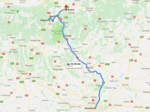 Itinerario transilvania sara caulfield day 1