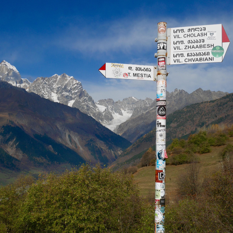 Guida al trekking sulle montagne dello Svaneti in Georgia sara caulfield