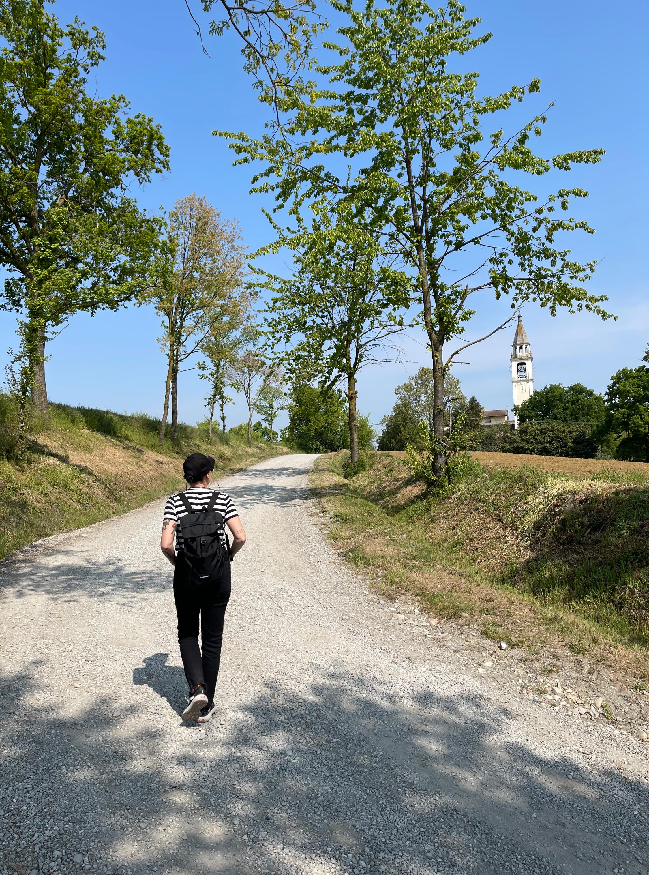 Cosa fare a Fidenza e percorsi fuori città sulla via Francigena sara caulfield