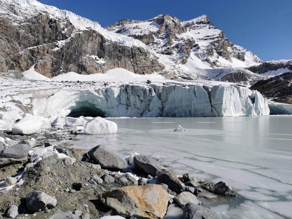 sara caulfield viaggio di gruppo ghiacciaio fellaria